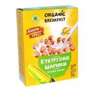 Готовый завтрак КУКУРУЗНЫЕ ШАРИКИ 100 г (Компас здоровья)