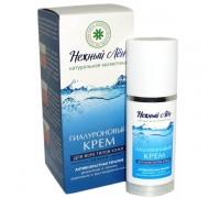 Крем гиалуроновый для всех типов кожи НЕЖНЫЙ ЛЁН ночной 50 мл (Компас здоровья)