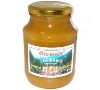 Мёд ТАЁЖНЫЙ в стеклянной банке 750 г (Старовер)