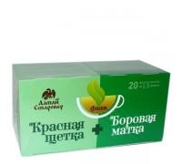 Чай ФИТА КРАСНАЯ ЩЁТКА И БОРОВАЯ МАТКА (для женщин) 20 ф/п по 1,5 г (Старовер)